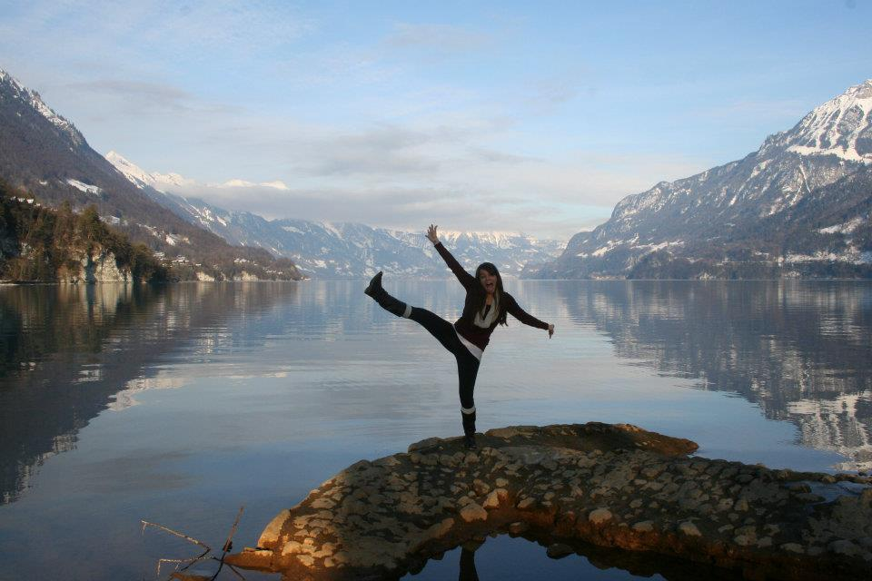 Taken next to the picturesque Lake Brienz in Interlaken, Switzerland. A haven for extreme sports enthusiasts, Interlaken is a perfect mix of serenity and insanity.