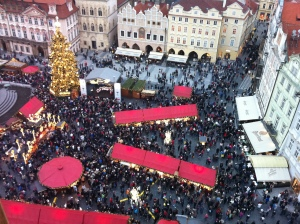 Prague Old Town Square Christmas Markets