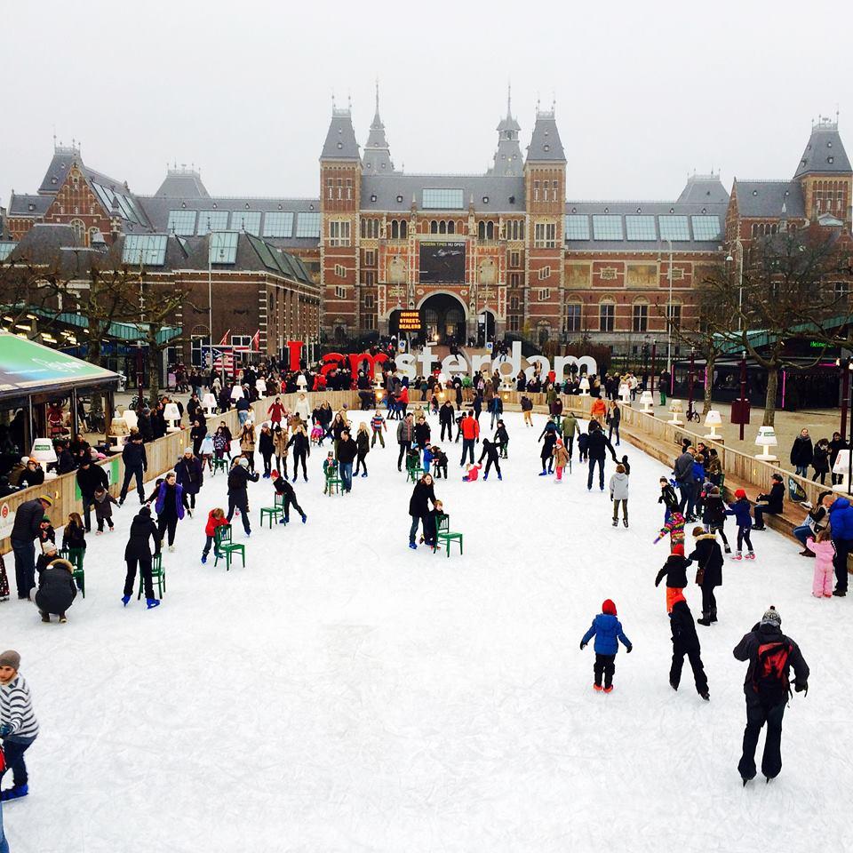 Amsterdam Ice Skaters