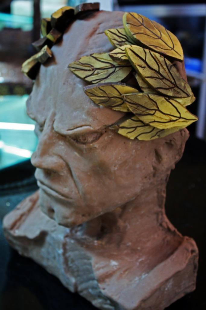 chocolate Ceasar head in Belgium