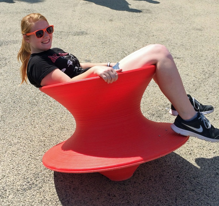 spinny top chair