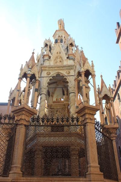Scaliger Tomb. Verona, Italy.